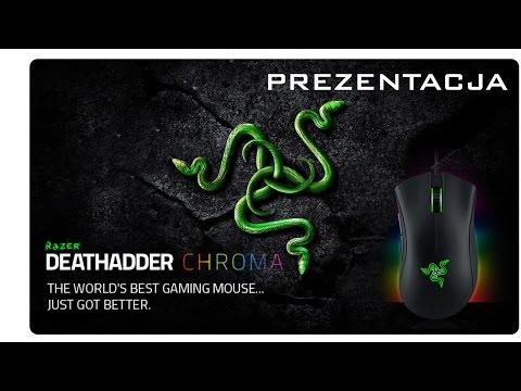 Prezentacja Razer DeathAdder Chroma   myszka dla graczy!