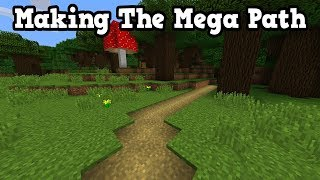 Minecraft Xbox - Building The Extra Long Pathway