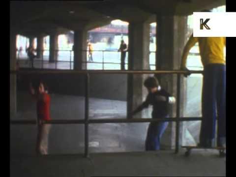 1970s South Bank Skateboard Park, Skateboarding in London