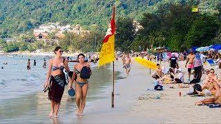 Patong Beach Phuket Thailand December 2018