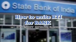RTI bank | SBI | FD | RD | Cheque book | Branch manager RTI |
