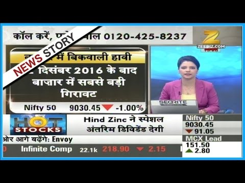Hot Stocks | Sensex closed after falling 318 points
