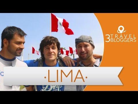 Tour Gastronómico en Lima - 3 Travel Bloggers (Daniel Tirado, JL Pastor y Frank Tipiani)