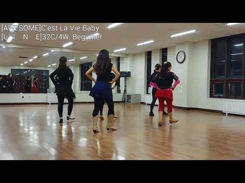 C'est la Vie Baby Line Dance - Jo Thompson Szymanski and John Robinson
