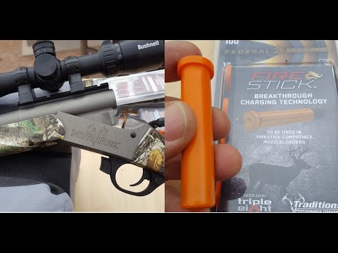 Traditions Nitrofire Rifle & Federal Firestick Change Muzzleloading Forever - Range Day SHOT 2020