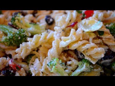 Pasta Salad Recipe   Fast & Simple!