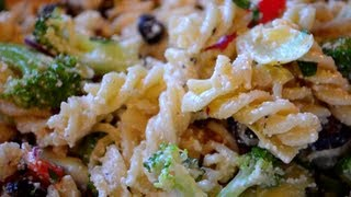Pasta Salad Recipe  Fast & Simple!