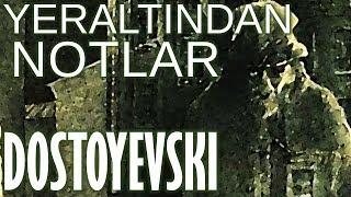 """""""Yeraltından Notlar"""" Fyodor Dostoyevski sesli kitap tek parça Akın ALTAN"""
