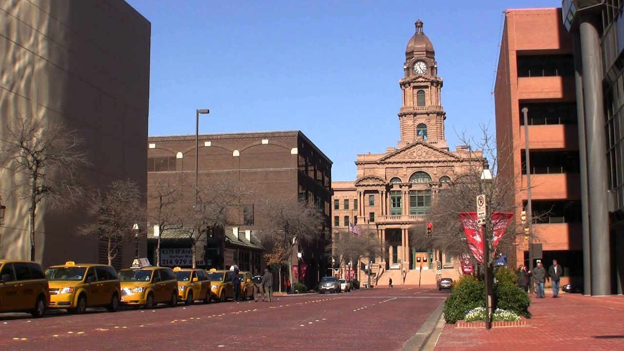 Courthouse Downtown Fort Worth Texas Youtube