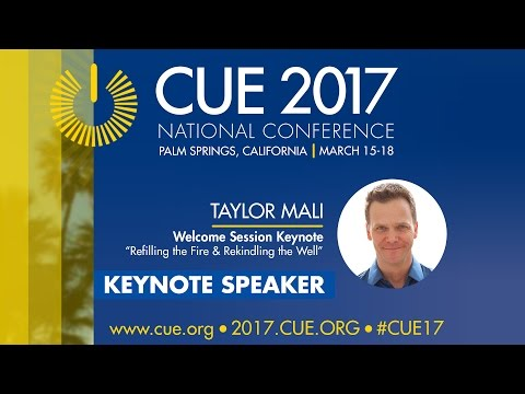 CUE 2017 National Conference- Taylor Mali Welcome Keynote