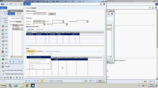Inventory Management In Microsoft AX 2012 R3