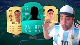 JUEGO CON LA CARTA MEDIA 99 DE UN JUGADOR PROFESIONAL | FIFA 19
