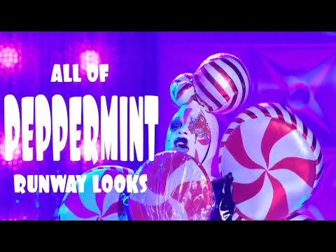 All Of Peppermint's Runway Looks