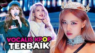 Suara Aslinya Bagus Banget! 10 Vokalis Girl Grup Terbaik & Terpopuler di Industri Musik Kpop