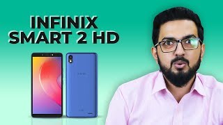 Cheapest Phone with Face Unlock Feature - Infinix Smart 2 HD