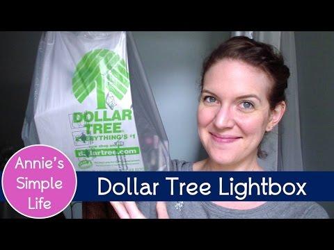 Dollar Tree Diy Lightbox