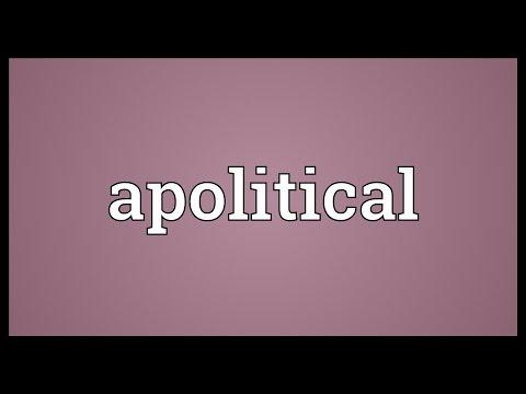 Header of apolitical