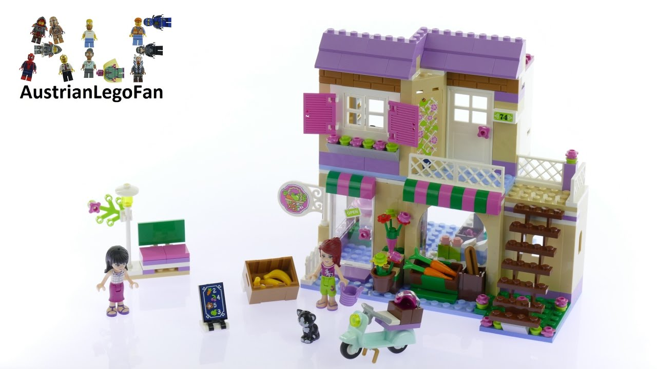 Download Lego Friends 41108 Heartlake Food Market - Lego Speed Build Revview