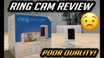 WHY YOU SHOULDN'T BUY RING STICK UP CAM WIRED 1080p CAMERAS