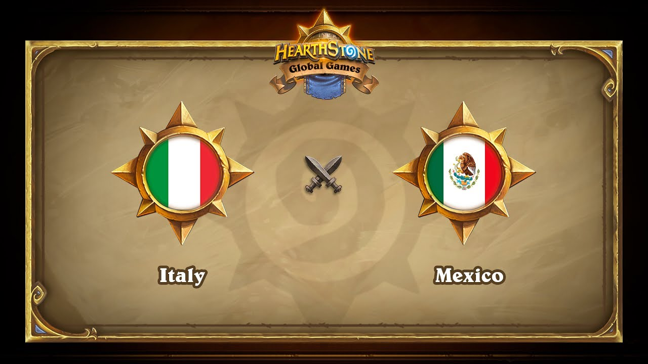 Italy vs Mexico, Hearthstone Global Games Phase 2