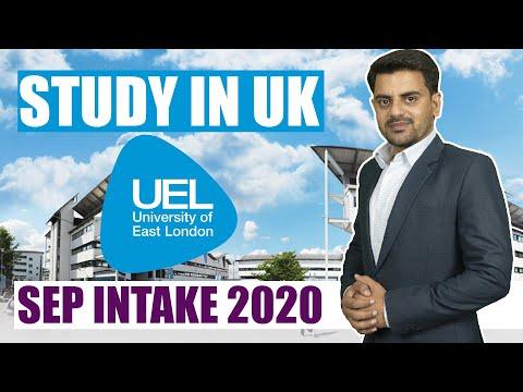 University of East London | September intake 2020 | STUDY IN UK | Indian Student | Study Abroad Visa