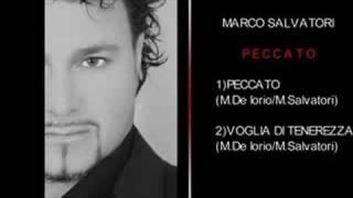Marco Salvatori  Peccato - Voglia di Tenerezza Realizzazione nuovo disco intitolato