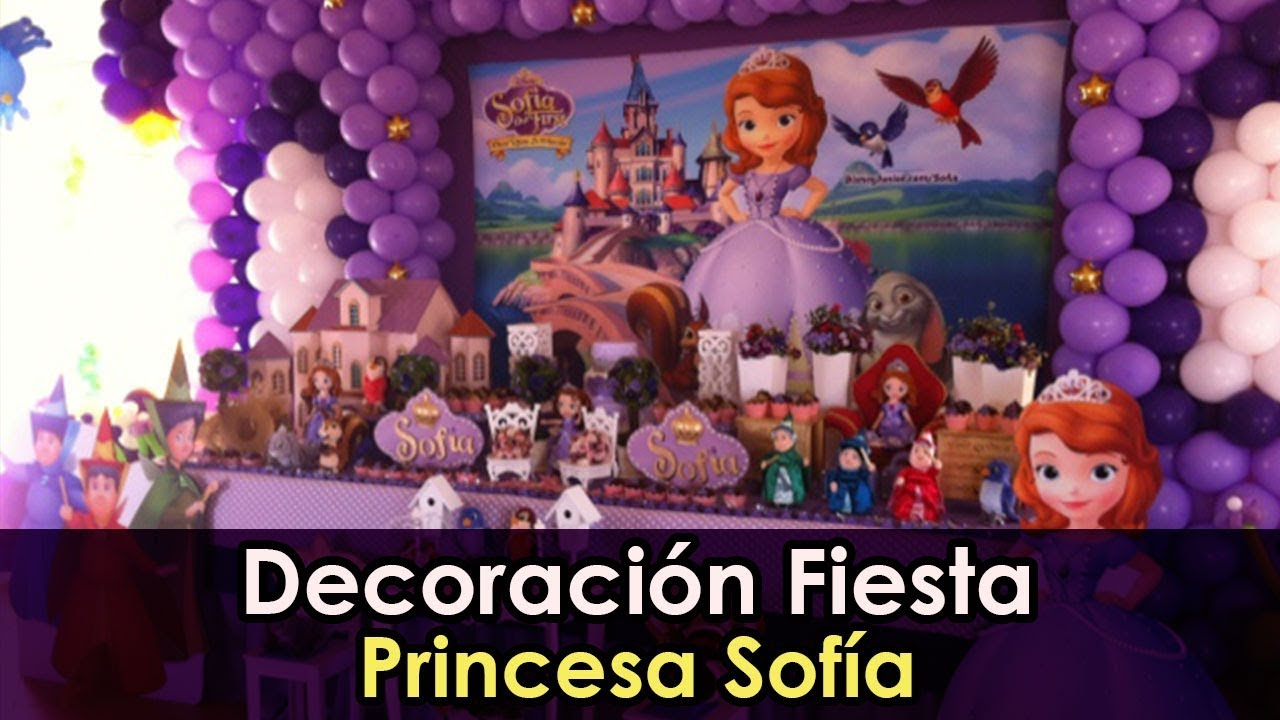 987198a4c  PrincesaSofia  CumpleañosPrincesaSofia  FiestaPrincesaSofia