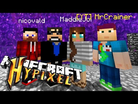 EVEN MORE MINECRAFT MINI-GAMES ON HYPIXEL **not clickbait**