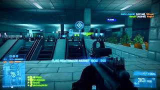 Battlefield 3 - Live Commentary - Conquest Operation Metro (BF3 Online Multiplayer Gameplay)