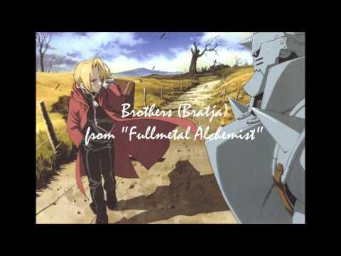 Brothers (Bratja)--Fullmetal Alchemist (harp and ocarina cover)