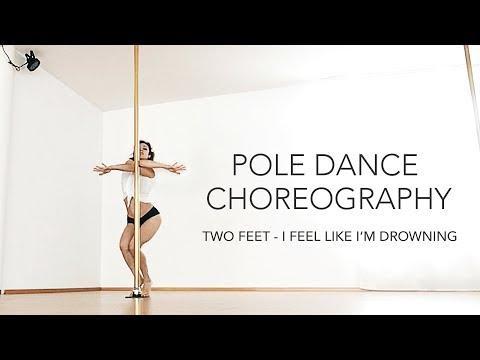 Pole Dance Choreography To Two Feet / Beginners - Intermediate