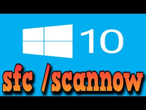 Run SFC Command in Windows 10 to repair System files
