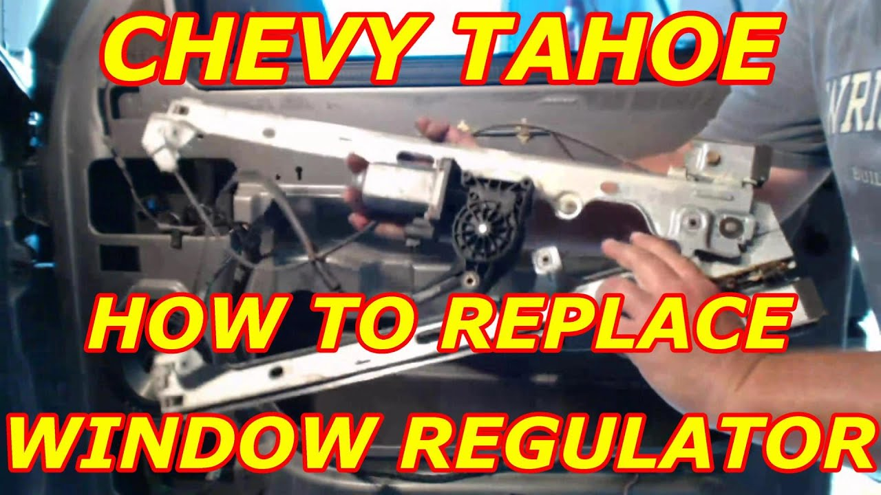 Service manual how to replace 2001 chevrolet metro window for 2001 chevy tahoe window motor replacement