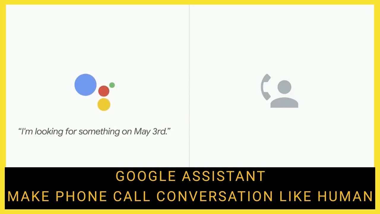Google Assistant Haircut Appointment Call Google Io 18 Youtube