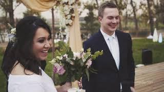 Красивая свадебная регистрация в Алматы