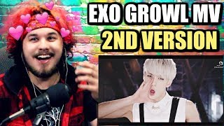 EXO 엑소 '으르렁 (Growl)' MV 2nd Version (Korean Ver.) | NEVER KNEW ABOUT THIS! | REACTION!!
