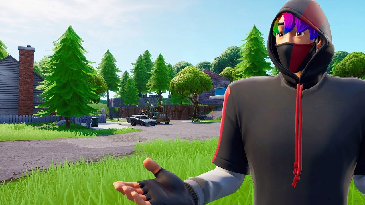 I Played Fortnite On The Best Graphics Possible