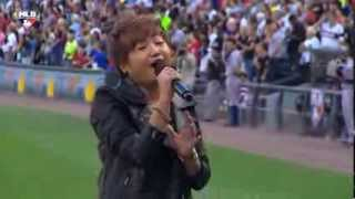Charice Performs The Star Spangled Banner - 2013 Civil Rights Game - Chicago
