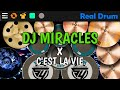 Dj Miracles X C Est La Vie Real Drum Cover Lagu Tik Tok Terbaru Remix Original   Mp3 - Mp4 Download