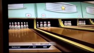 How to change colour on the bowling ball (Wii sports)