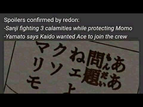 Spoiler One Piece 985 Kaido Ternyata Menginginkan Ace Jadi Crew Nya What Jeki Is Youtube