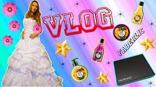 VLOG:одеваю свадебное платье,Faberlic,выигрыш в конкурсе,Иль де Боте box