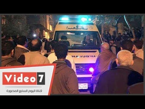 وصول جثمانى شهيدى الغربية فى حادث تفجير مسجد الروضة بالعريش