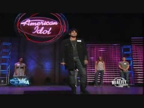 Adam Lambert on American Idol Hollywood Week  Whats up