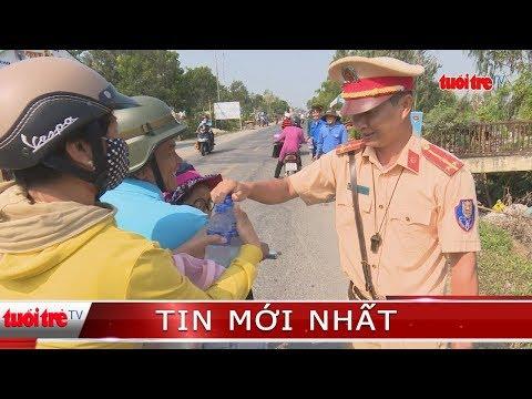 ⚡ NÓNG   Trạm dừng chân nghĩa tình của Cảnh sát giao thông thị xã Hồng Ngự