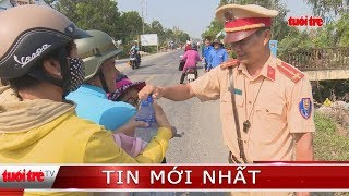 ⚡ NÓNG | Trạm dừng chân nghĩa tình của Cảnh sát giao thông thị xã Hồng Ngự