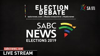 #SABCNews Western Cape Election Debate:11 April 2019
