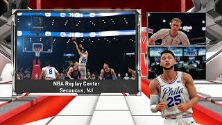 NBA 2K18 PS4 KNICKS MYGM - CLUTCH BEN SIMMONS VS FREDDIE STAPLES, BUZZER BEATER FINISH!!! (EP.41)