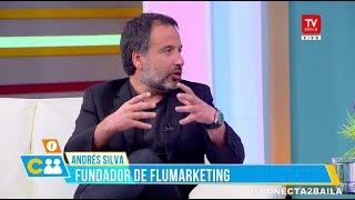 Entrevista a Andres Silva Arancibia  en el programa conectados TV Chile, TVN,.