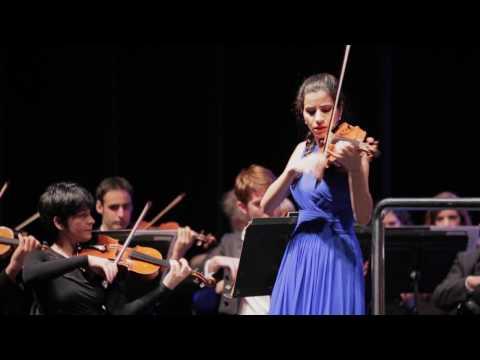 Ana María Valderrama & BOS | Mendelssohn Violin Concerto E minor, Op.64 (excerpts)